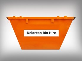 Delorean Bin Hire